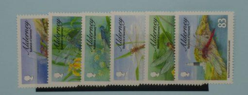 Alderney Stamps, 2010, SGA381-A386, Mint 5