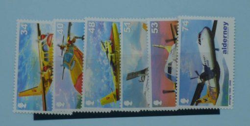 Alderney Stamps, 2008, SGA349-A354, Mint 5