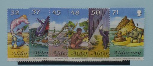 Alderney Stamps, 2007, SGA322-A327, Mint 5