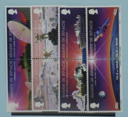 Isle of Man Stamps, 2003, SG1047a, SG1049a, SG1051a, SG1053a, Mint 5