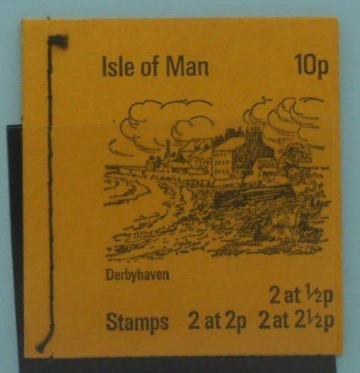 Isle of Man Stamps, 1974, SB1, Mint 5