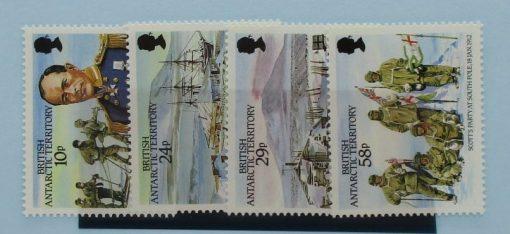 British Antarctic Territory Stamps, 1987, SG155-158, Mint 5