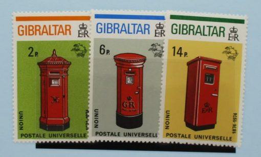 Gibraltar Stamps, 1974, SG325-327, Mint 5