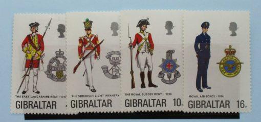 Gibraltar Stamps, 1974, SG331-334, Mint 5