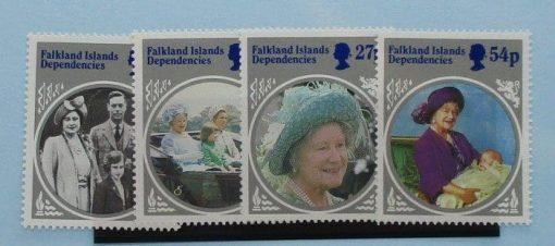 Falkland Island Dependencies Stamps, 1985, SG129-132, Mint 5
