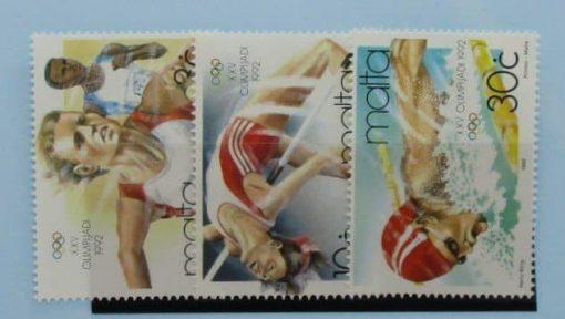 Malta Stamps, 1992, SG924-926, Mint 5