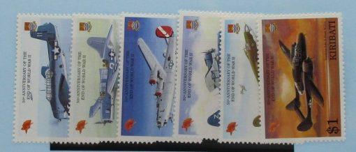 Kiribati Stamps, 1995, SG489-494, Mint 5