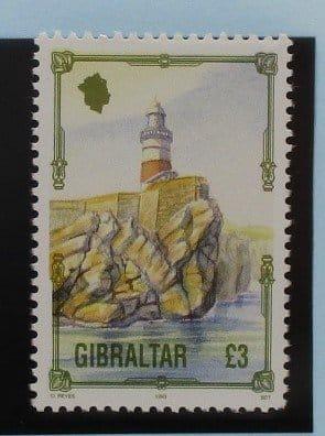 Gibraltar Stamps, 1993-95, SG707, Mint 5