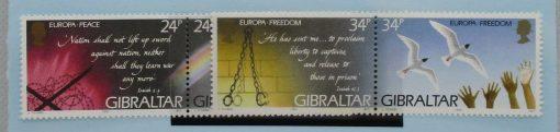 Gibraltar Stamps, 1995, SG740a, SG742a, Mint 5