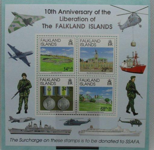 Falkland Islands Stamps, 1992, MS660, Mint 5