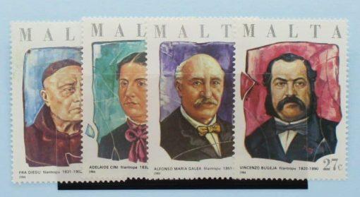 Malta Stamps, 1986, SG785-788, Mint 5