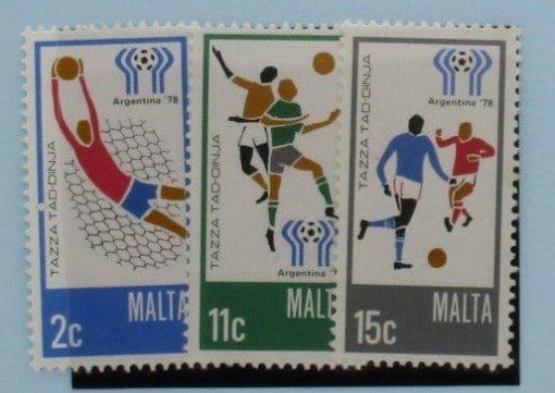 Malta Stamps, 1978, SG601-603, Mint 5