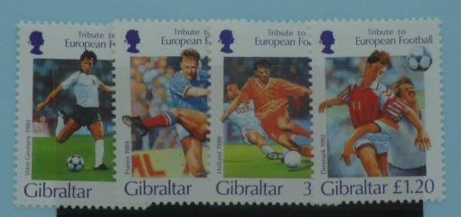 Gibraltar Stamps, 1996, SG771-774, Mint 5