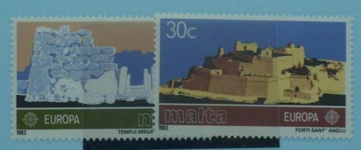 Malta Stamps, 1983, SG712-713, Mint 5