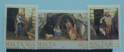 Malta Stamps, 1990, SG884-886, Mint 3