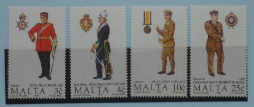 Malta Stamps, 1990, SG880-883, Mint 5
