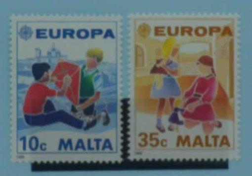 Malta Stamps, 1989, SG849-850, Mint 5