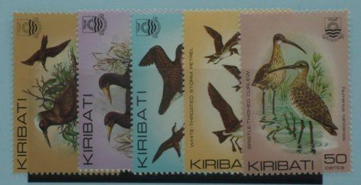 Kiribati Stamps, 1982, SG171a-175, Mint 5
