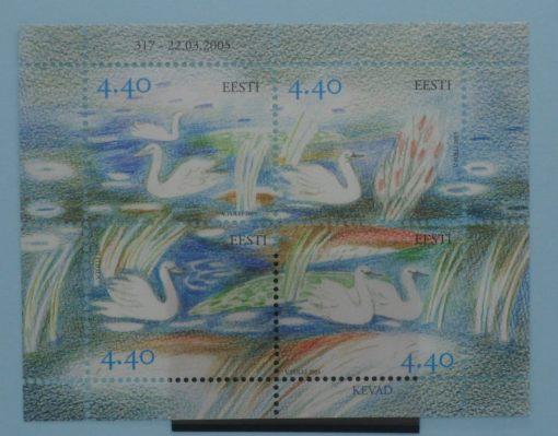 Estonia Stamps, 2005, MS483, Mint 3