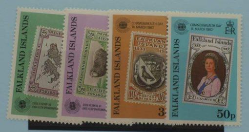 Falkland Islands Stamps, 1983, SG450-453, Mint 5