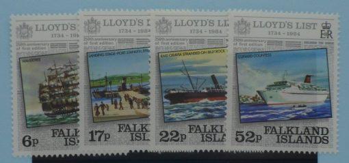 Falkland Islands Stamps, 1984, SG484-487, Mint 5