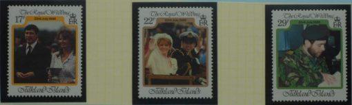 Falkland Islands Stamps, 1986, SG536-538, Mint 5