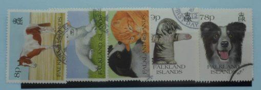Falkland Islands Stamps, 1993, SG691-695, Used 5