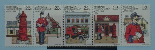 Australia Stamps, 1980, SG752a, Mint 5