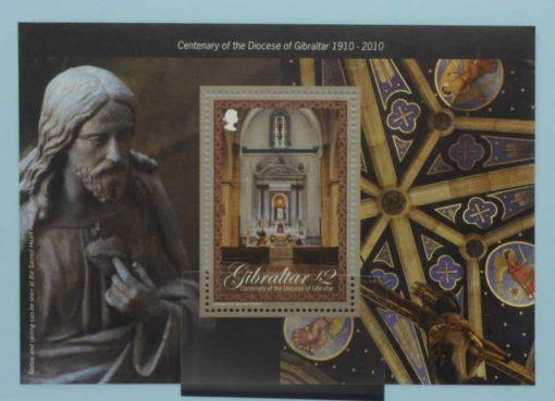 Gibraltar Stamps, 2010, MS1375, Mint 5