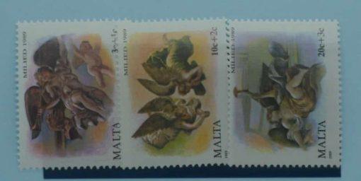 Malta Stamps, 1989, SG860-862, Mint 5