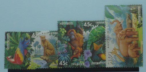 Australia Stamps, 1994, SG1479-1483, Mint 5