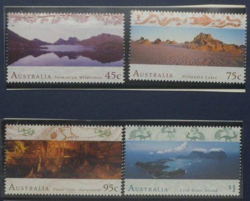 Australia Stamps, 1996, SG1582-1585, Mint 5