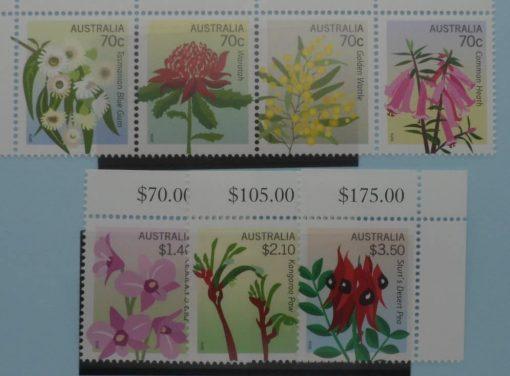 Australia Stamps, 2014, SG4130a, SG4134-4136, Mint 5