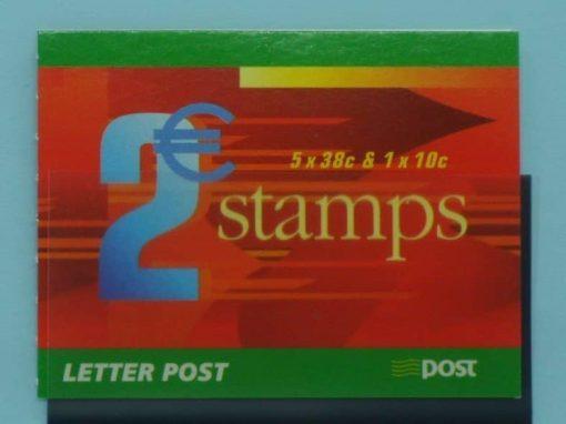Ireland Stamps, 2002, SB95, Mint 5