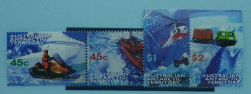 Australian Antarctic Territory Stamps, 1998, SG122a, SG124-125, Mint 3