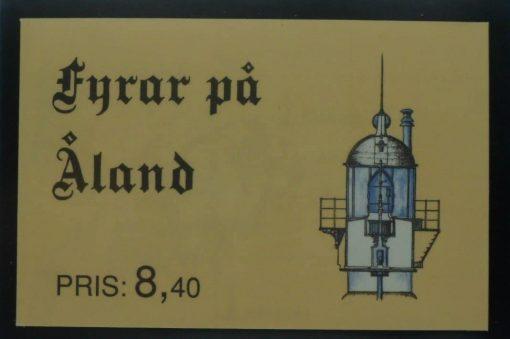 Aland Islands Stamps, 1992, SB1, Mint 5