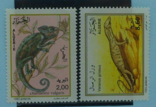 Algeria Stamps, 1993, SG1133-1134, Mint 3