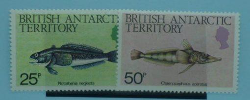 British Antarctic Territory Stamps, 1984, SG135-136, Mint 5