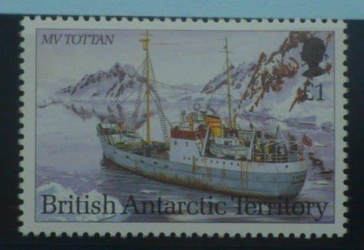 British Antarctic Territory Stamps, 1993, SG227, Mint 5
