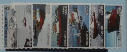 British Antarctic Territory Stamps, 2011, SG538-543, Mint 5