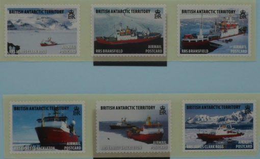 British Antarctic Territory Stamps, 2011, SG545-550, Mint 5