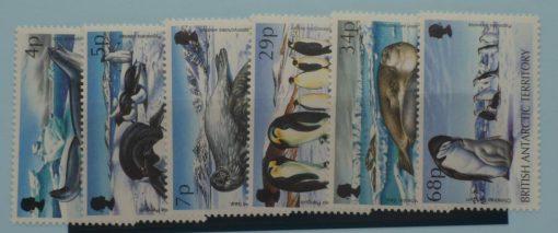 British Antarctic Territory Stamps, 1992, SG208-213, Mint 5