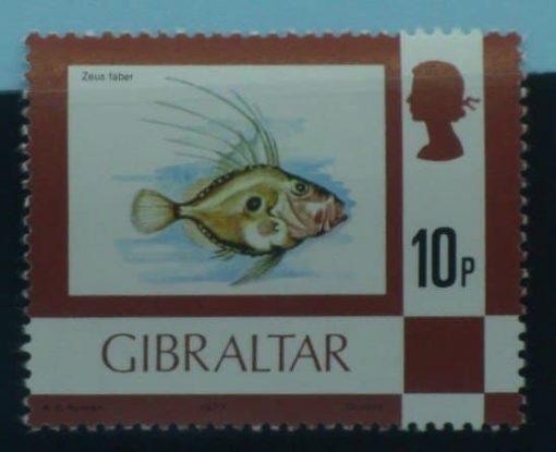 Gibraltar Stamps, 1977-82, SG383, Mint 5