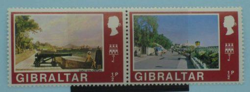 Gibraltar Stamps, 1971, SG255a, Mint 5