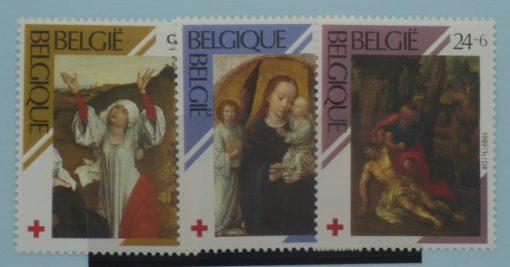 Belgium Stamps, 1989, SG2973-2975, Mint 5