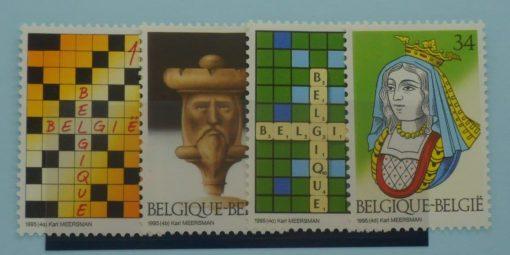Belgium Stamps, 1995, SG3259-3262, Mint 5