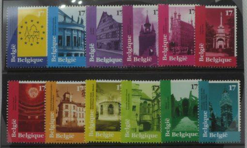 Belgium Stamps, 1998, SG3439-3450, Mint 5
