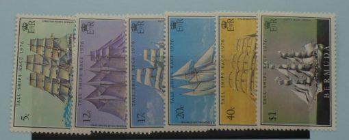 Bermuda Stamps, 1976, SG361-366, Mint 5