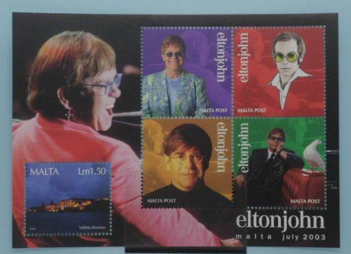 Malta Stamps, 2003, MS1315, Mint 5