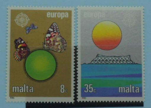Malta Stamps, 1986, SG779-780, Mint 5